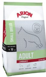 ARION ORIGINAL Adult Small Lamb&Rice 7,5kg , gluténmentes