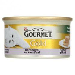 Bolti átvételre rendelhető : Gourmet Gold  báránnyal és kacsával duo 85g
