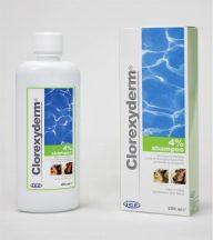 Clorexiderm 4%-os sampon 250ml