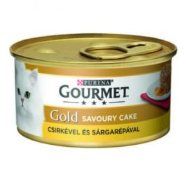 Bolti átvételre rendelhető :Gourmet Gold Csirke sárgarépával 85 gr