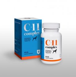 Ingyenes szállítással 2db-tól : C-11 complex integrált porcvédő tabletta, 60db (VitaMed) izületvédelem felsőfokon