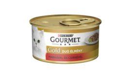 Gourmet Gold  Marhahússal és csirkével duo 85g