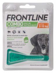 Frontline Combo Spot-on kutya S 2-10kg