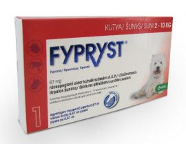 Fypryst® Spot-on kutya S 2-10kg 1db
