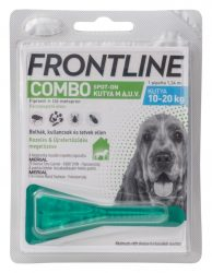 Frontline Combo Spot-on kutya M 10-20kg