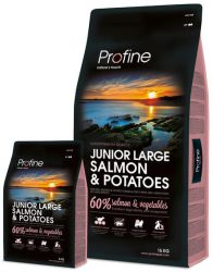 Profine - Junior Large Salmon & Potatoes 15kg