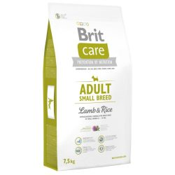 Brit Care Hypoallergenic - Adult Small Lamb & Rice 7,5kg
