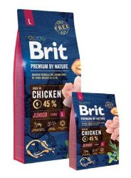 Brit Premium by Nature - Junior Large15kg
